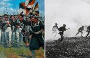 Общество: Почему в старину солдаты ходили широкими полками, а потом бойцов стали «разбрасывать» по фронту