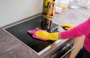 Блог Юрия Хворостова: Простые способы, которые помогут оттереть с варочной поверхности плиты нагар и жир