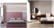 Идеи вашего дома: Как оформить изголовье двуспальной кровати в рамках топовых трендов