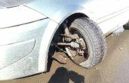 Автомобили: В каком случае у автомобиля может запросто оторвать колесо